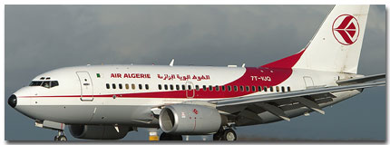 Air Algerie Flights Tickets and Schedule