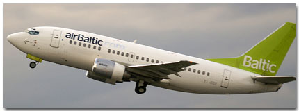 Air Baltic Flights Tickets and Air Baltic Schedule
