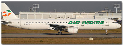 Air Ivoire Flights Tickets and Schedule