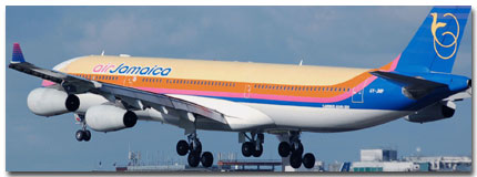 Air Jamaica Flights Tickets and Schedule