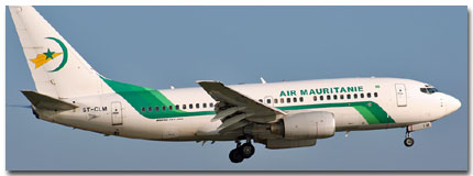 Air Mauritanie Flights Tickets and Schedule