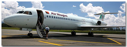 Air Niugini Flight Schedule Online