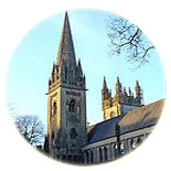 Llandaff Cathedral in Cardiff