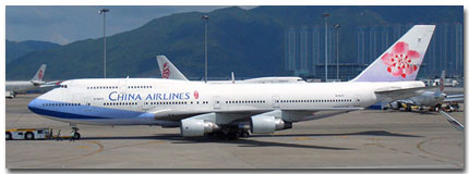 China Airlines In-Flight Services