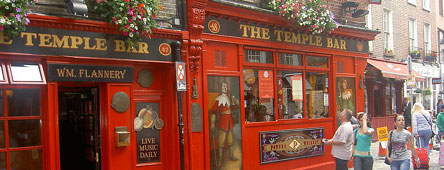 Temple Bar and Pub in Dublin