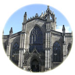 St. Giles Cathedral in Edinburgh