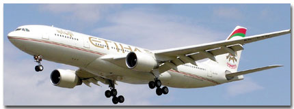 Etihad Airways Flight Time Table and Schedule Online