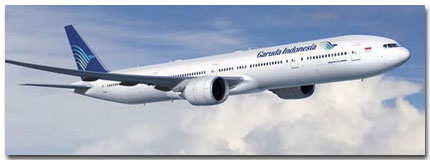 Garuda Indonesia Airlines Flights Tickets and Schedule