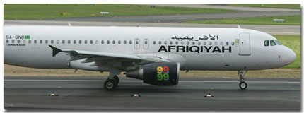 Afriqiyah airways reservation Online