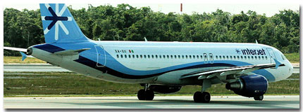 InterJet Airline Cheap Flights tickets