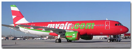 MyAir Airlines Cheap Flights tickets