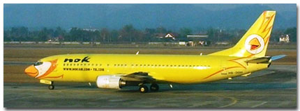 Nok Air Cheap Flights tickets for Bangkok, Phuket, Thailand