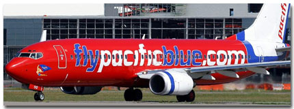 Pacific Blue Airlines Cheap Flights tickets