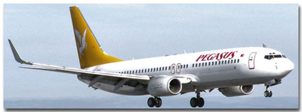 Pegasus Airlines Cheap Flights tickets