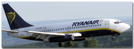 Ryanair Airlines Cheap Flights tickets