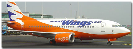 Smart Wings Airlines Cheap Flights tickets