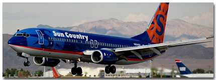 Sun Country Airlines Cheap Flights tickets