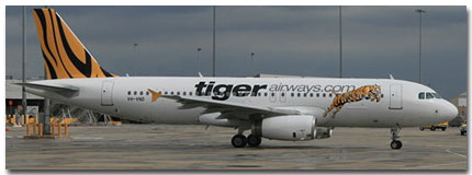 Tiger Airlines Airways Cheap Flights tickets