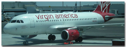 Virgin America Airlines Cheap Flights Status tickets