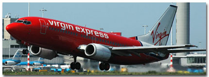 Virgin Express Airlines Cheap Flights tickets