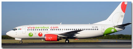 Viva Aerobus Mexico Airlines Cheap Flights tickets