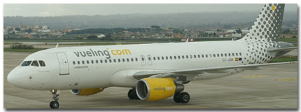 Vueling Airlines Spain Cheap Flights tickets