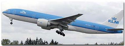 KLM Airlines In-Flight Services