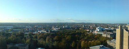 Panorama of Leicester