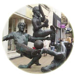 Sports Statue in Leicester