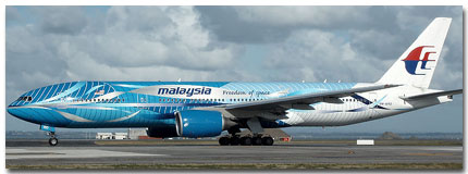 Malaysia Airlines Flights Tickets and Schedule