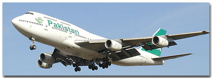 Pakistan International Airlines Flights Tickets and Schedule