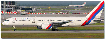 Nepal Airlines Flight Schedule Online