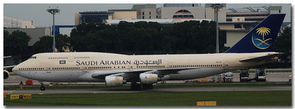 Saudi Arabian Airlines Flights Tickets and Schedule