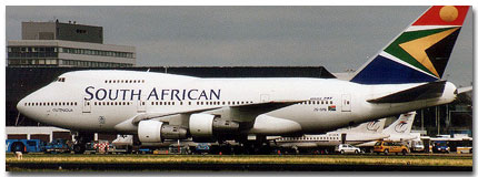South African Airways Flights Tickets and Schedule