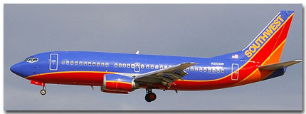 Southwestern Airlines Flights Tickets and Schedule