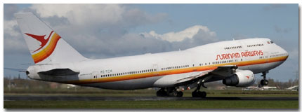 Surinam Airways Flights Tickets and Schedule