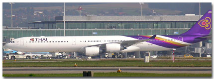 Thai International Airways In-Flight Services