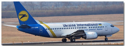 Ukraine International Airlines Flights Tickets and Schedule
