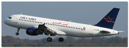 Air Cairo Schedule Online