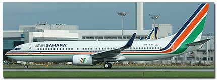 Air Sahara JetLite flight tickets Online