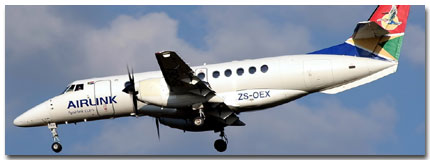 Airlink flights tickets booking