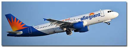 Allegiant Air Flights Tickets Schedule