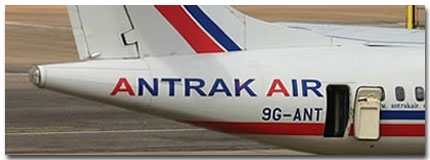 Antrak Air flights tickets reservations