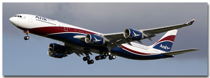 Arik Air flights tickets booking