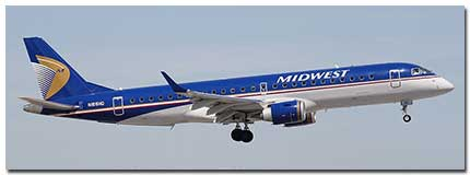 Midwest Airlines Flights Information
